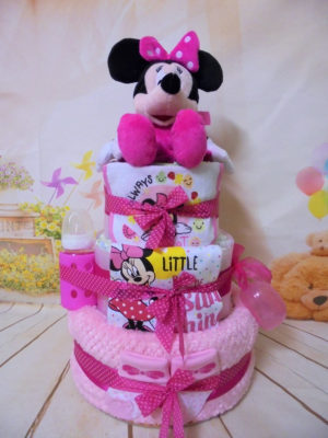 diapercake baby Minnie