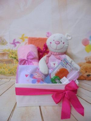 Baby gift box baby girl