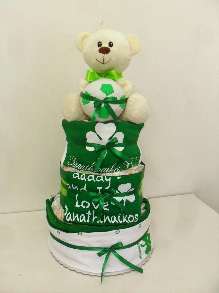 9f6891c727e Baby ΠΑΟ - Diapercakes.gr