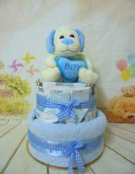 Sweet little dog blue τουρτοπάνα