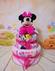 2οροφο diapercake Γλυκειά Minnie