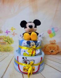 2οροφο diapercake Γλυκός Mickey
