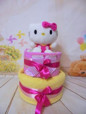 Diaper cake Hello Kiity