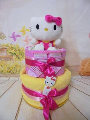 diapercake hello kitty