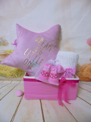 Baby gift box little Dreamer Pink