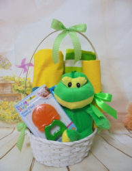 baby gift basket βατραχάκι