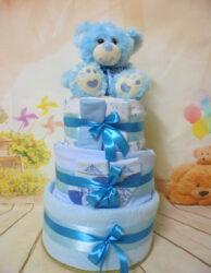 diaper cake handsome babyboy