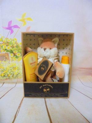weleda baby gift box αλεπού
