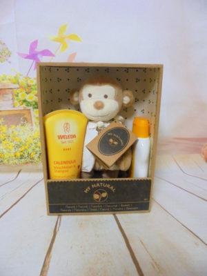 weleda baby gift box μαιμουδάκι