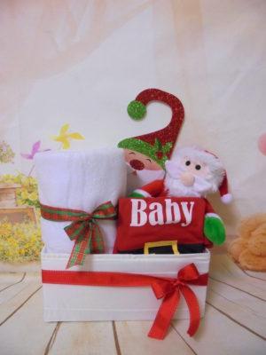 Baby gift box Santa baby