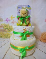 Μωροτουρτα 2όροφη baby Winnie