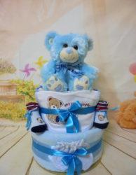 Diaper cake Cute teddy bear