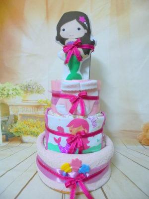Diaper cake Γοργόνα