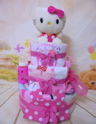 Diapercake 3όροφο Hello kitty