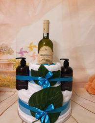 towel cake botanica & wine