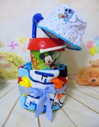 beach towelcake Mickey