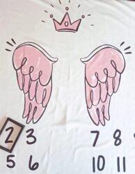 σεντονακι ημερολόγιο little angel pink
