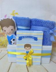 baby gift box μικρός ποδοσφαιριστής